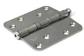 kogellagerscharnieren ronde hoeken staal 89x89 mm