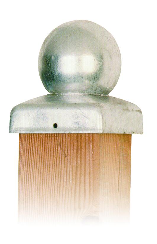 paalornament bol verzinkt 71x71 mm